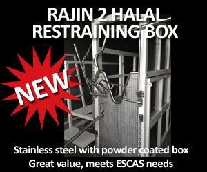 Rajin 2 Halal Restraining Box