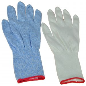 Cut Resistant Gloves Blue and White